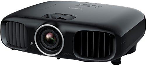 Bild 4: Epson EH-TW6100 3D Heimkino 3LCD-Projektor (Full HD 1080p, 2.300 Lumen Weiß & Farbhelligkeit, 40.000:1 Kontrast, 2x HDMI (1x MHL), inkl. 1x 3D Brille) schwarz