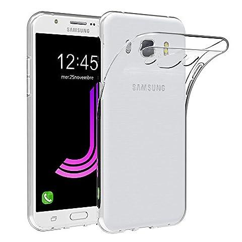 Coque Samsung Galaxy J7 2016, AICEK Transparente Silicone Coque Pour Samsung Galaxy J7 2016 Housse J710F / J710FN (5,5 Pouces) Silicone Etui Case
