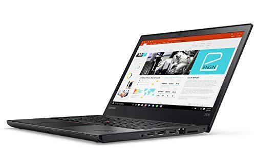 Lenovo ThinkPad T470 14 Zoll 1920×1080 Full HD Intel Core i5 256GB SSD Festplatte 8GB Speicher Win 10 Pro Webcam Notebook Laptop Ultrabook (Zertifiziert und Generalüberholt)