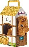 Bibi & Tina 636972 636972-Pferd Amadeus stehend im Stall Plüschtier, Weiß