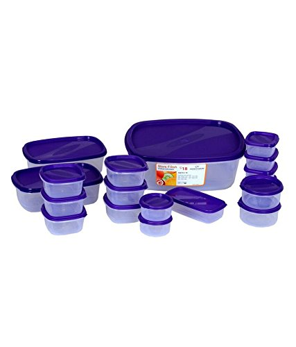 Princeware SF Package Container Set, 18-Pieces