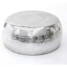 KasandriaR Couchtisch Steel Silber