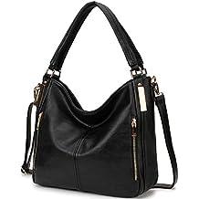 buona reputazione autentico varietà di design borsa nera tracolla grande - Amazon.it