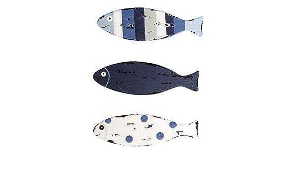 Rayher 46041000 Streuteile Fisch 3x1 cm SB-Btl 15 St/ück,3 Farben wei/ß-t/ürkis-blau Kartengestaltung
