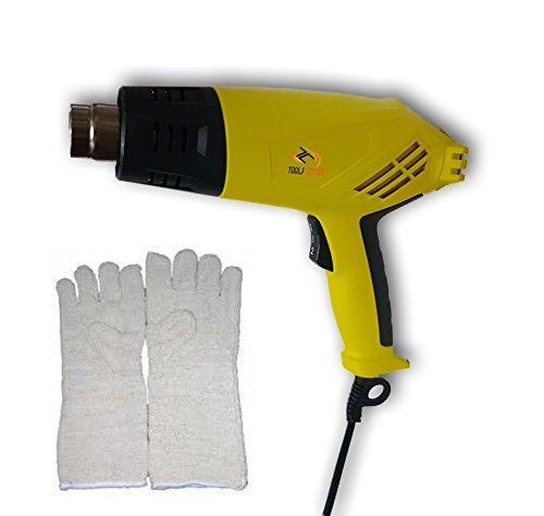 Tools Centre Professional 2000W Hot Air Gun With Free Heat Resistant Gloves. -