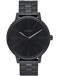 Nixon Unisex-Armbanduhr Kensington Analog Quarz Edelstahl A099 - 001-00
