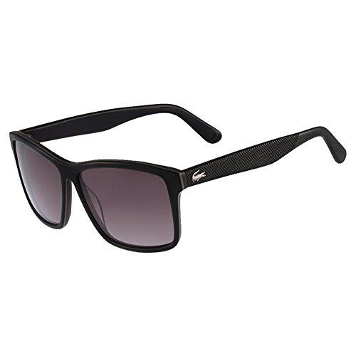 Lacoste l705s 001 57, occhiali da sole uomo, nero (black/brown)