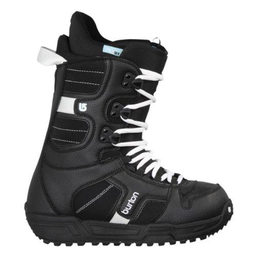 Burton, scarponi da snowboard donna Coco, Black / White