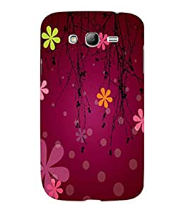 printtech Flower Cool Pattern Back Case Cover for Samsung Galaxy Grand Neo Plus::Samsung Galaxy Grand Neo Plus i9060i