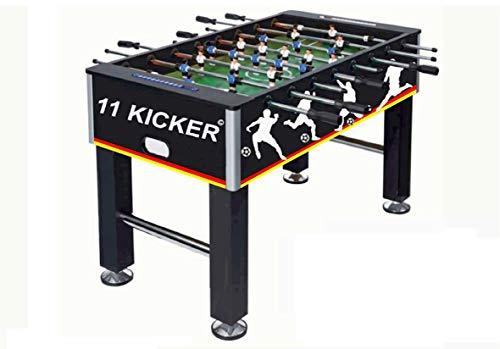 Izzy Tischkicker Kickertisch Profi inkl.2 Bälle, 45 kg, Gleitlager, MDF, Kicker-Tisch