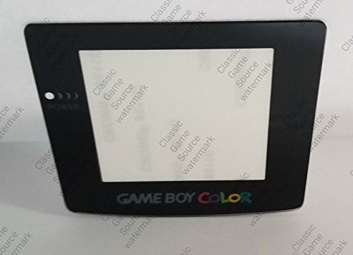 ClassicGameSource Echtglas Schutzschirm-Objektiv für Nintendo Game Boy Color mit Klebstoff