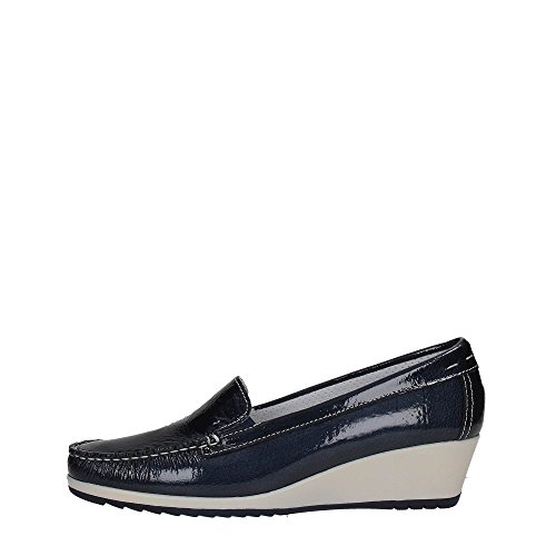 Enval Soft 7933 Slip On Donna Sintetico BLU BLU 40