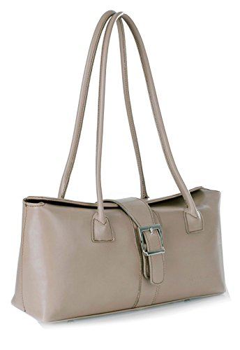 Big Handbag Shop, Borsa a secchiello donna One Light Taupe