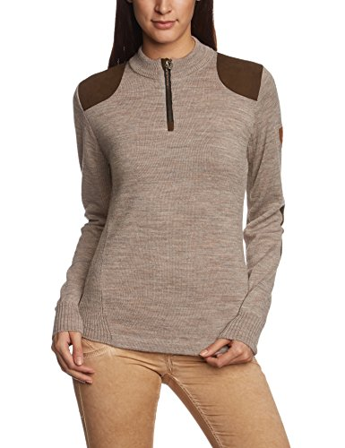 Dale of Norway Damen Pullover Furu Sweater, Sand, M, 92471-P (Pullover Norway Dale Of)