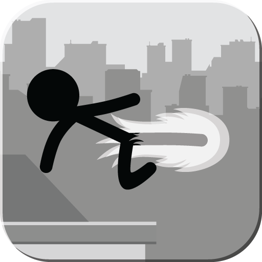 stickman-rooftop-runner