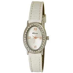 Ravel - R0900.4L - Montre Femme - Quartz Analogique - Bracelet Plastique Blanc