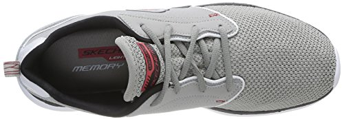 Skechers - Counterpart, Sneakers da uomo Grigio (Grigio (Lgbk))