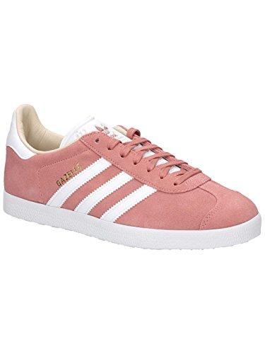 adidas Damen Gazelle Sneakers, Mehrfarbig (Ashpnkftwwhtlinen), 41 1/3 EU (Retro-frauen-basketball-schuh)