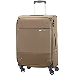 Samsonite - Base Boost Spinner M (66cm-73,5L) Erweiterbar, Beige (Walnut)
