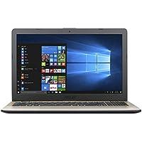 "Asus VivoBook X542UA-GQ266T Notebook, Display da 15.6"", Processore i5-8250U, 1.6 GHz, HDD da 500 GB, 4 GB di RAM, Grigio [Layout Italiano]"