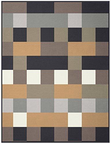 Biederlack Orion Cotton Coperta, Misto Cotone, Multicolore, Matrimoniale, 200 x 150 (Pelle Italiana Del Sofà)