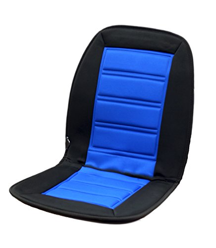 Auto Sitzheizung I 12V mit 2 regulierbaren Heizstufen I Farbe Blau/Schwarz I Beheizbare Sitzauflage