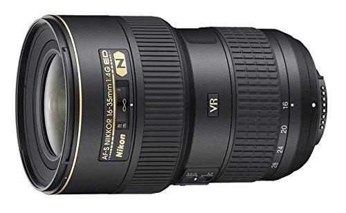 Nikon AF-S VR 16-35mm F4 G ED - Objetivo con montura para Nikon (distancia focal 24-52mm, apertura f/4, estabilizador de imagen)
