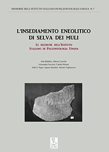 L'insediamento neolitico di Selva dei Muli. Le ricerche dell'istituto italiano di paleontologia umana