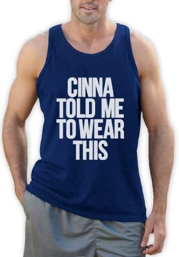CINNA TOLD ME TO WEAR THIS Tank Top Blau