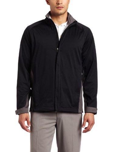 Nike Golf Herren Storm-fit Jacke Größe L Black/Midnight Fog (Fog Bekleidung Midnight)