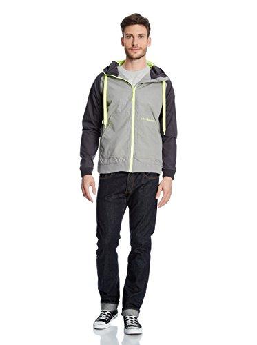 alife & kickin DON ESTEBAN Jacket (drkgreymel neon cyber) Dark Grey Melange