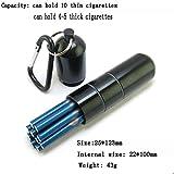 Oli Cigarette Box - Etui À Cigarettes en Métal - Alliage D'Aluminium Etui À Cigarettes Fine 10/16 Pack - Etanche,B,Porte-Cigarette