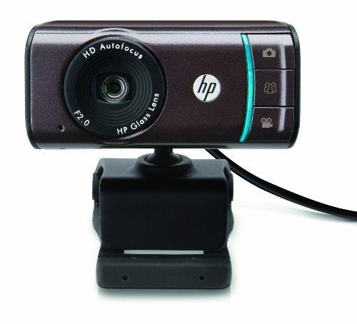 HP Webcam hd-3110-720p Autofokus Widescreen Webcam mit Targa Image