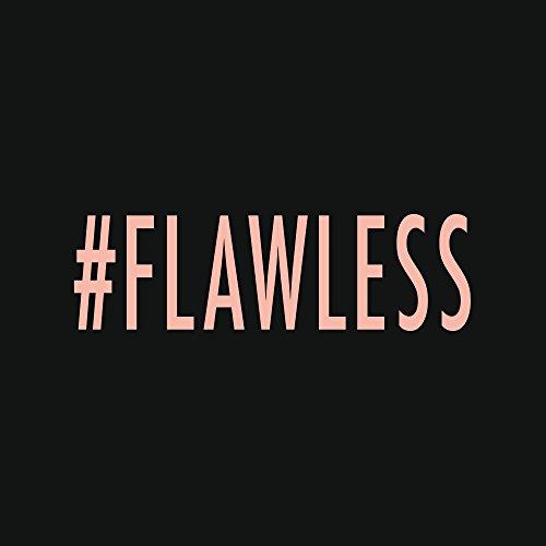 Apple iPhone 8 Bumper Hülle Bumper Case Glitzer Hülle Flawless Beyonce Hashtag Bumper Case transparent pink