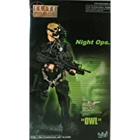 """Elite Force: Night Ops """"Owl"""" Military Action Figure by Blue Box Toys"""