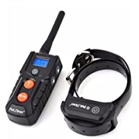 codomoxo Dog Training Collar 100% Waterproof Rechargeable Remote Electric Shock Collar for Dogs with Beep/Vibration (for 1 Dog)