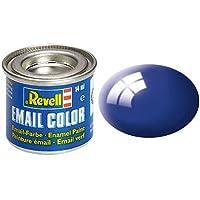 Peinture Bleu méditerrannée Brillant - Revell 32151 - RAL 5002