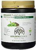 Golden Source Proteins Organisches Proteinpulver auf pflanzlicher Basis, Grüner Tee