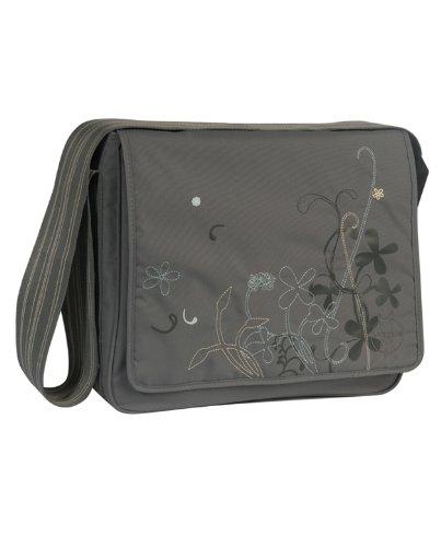 Lässig Casual Messenger Bag Wickeltasche/Babytasche inkl. Wickelzubehör Field grey -