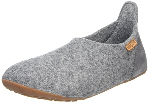 Bisgaard Unisex-Kinder Wool Basic Slipper, Grau (70 Grey), 36 EU