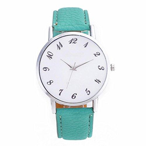 Relojes de mujeres,KanLin1986 reloj inteligente relojes cuero bisuteria mujer cinturones anchos relojes de niña relojes pulsera mujer relojes de cuarzo para mujer smartwatch (GN)