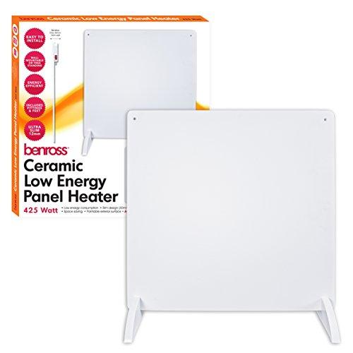 41QJ7ZQ7B%2BL. SS500  - Benross Compact Wall Panel Heater ~425w ~ 41700