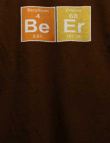 Beer Elements T-Shirt Braun