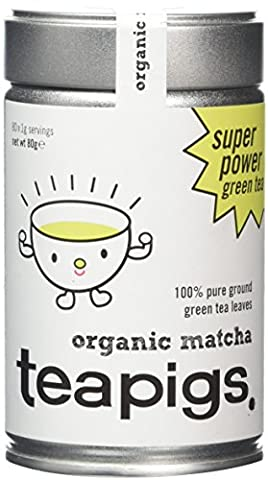 teapigs Organic Matcha Green Tea Powder 80 g