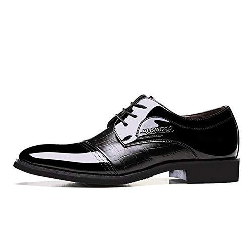 Feidaeu Herren Leder Oxford Business Schuhe Mode wies Krawatte offizielle Schuhe Arbeitsschuhe - Madden Oxford Steve