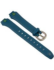 Timex Ironman para banda reloj arnband PU banda resistente al agua azul 14mm para T5K757