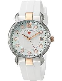 Swiss Legend Damen-Armbanduhr SL-16591SM-SR-02-WHT