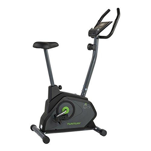Tunturi cardio fit b30 cyclette magnetica da casa / home trainer / con computer di allenamento e sensori delle pulsazioni - nero