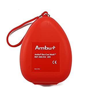 Ambu Res-Cue Pocket Mask with Oxygen Inlet