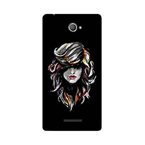 Phone Candy Designer Back Cover with direct 3D sublimation printing for Sony Xperia E4